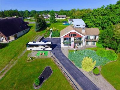 Single Family Home A-Active: 5159 West Lake Road
