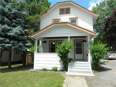 Canandaigua-Town NY Single Family Home A-Active: $133,900
