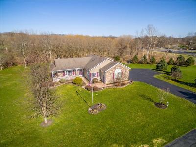 Monroe County Single Family Home A-Active: 2978 Rush Mendon Road
