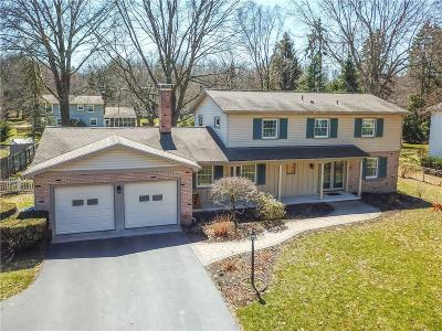 Pittsford Single Family Home A-Active: 19 Glendower Circle