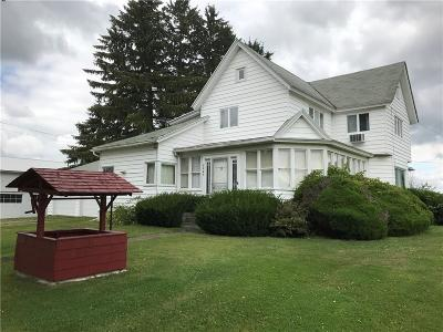 Wayland NY Single Family Home A-Active: $109,900
