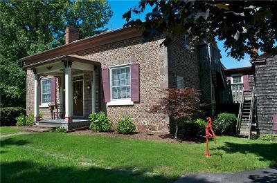 Single Family Home A-Active: 7563 Lake Road
