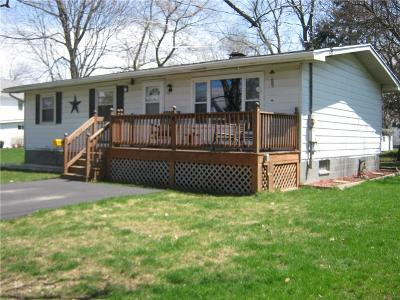 Batavia-City NY Single Family Home A-Active: $79,900
