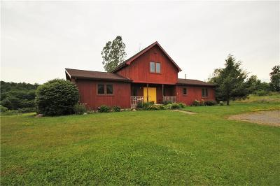 Chautauqua County Single Family Home Sold: 4473 Chautauqua Stedman Road