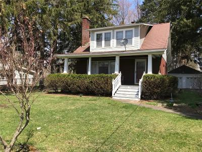 Portville NY Single Family Home A-Active: $110,000