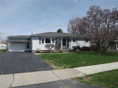 Irondequoit NY Single Family Home A-Active: $144,900