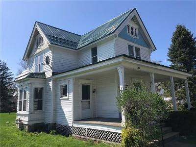 Wayland NY Single Family Home A-Active: $99,900