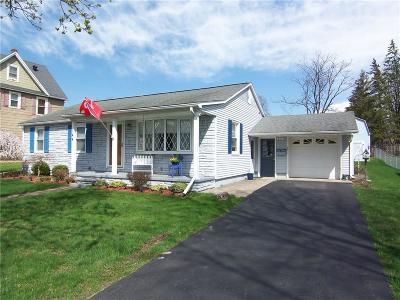 Batavia-City NY Single Family Home A-Active: $144,900