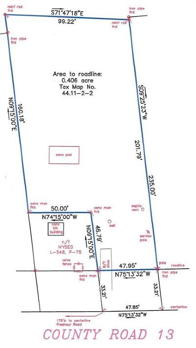 Residential Lots & Land A-Active: 3818 County Road 13 Road