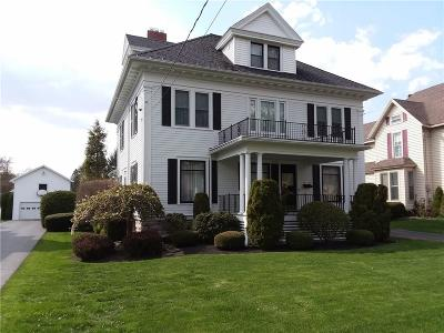 Batavia-City NY Single Family Home A-Active: $239,000