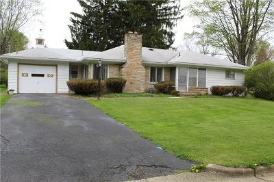 Jamestown NY Single Family Home A-Active: $124,500