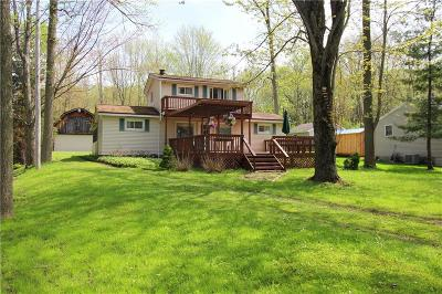 Ashville, Bemus Point, Celoron, Chautauqua, Chautauqua Institution, Dewittville, Gerry, Greenhurst, Jamestown, Lakewood, Maple Springs, Mayville Single Family Home A-Active: 6444 Galloway Road