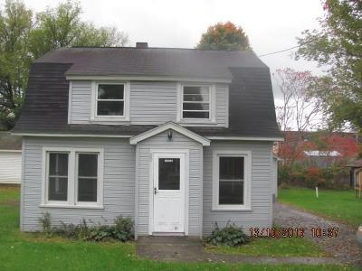 Carroll NY Single Family Home A-Active: $54,900