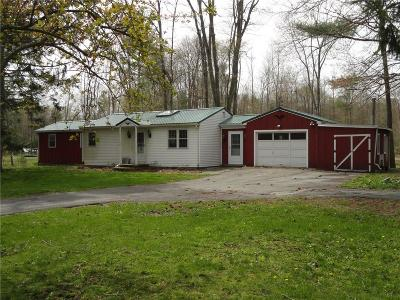 Phelps NY Single Family Home A-Active: $117,000