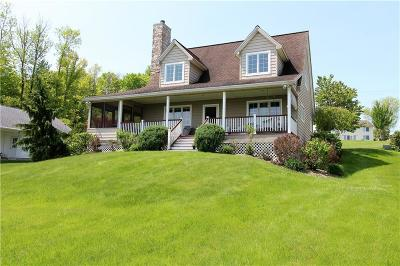 Chautauqua County Single Family Home Sold: 2710 Lakeshore Dr Sunrise Cove