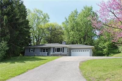 Single Family Home Sold: 6485 Pittsford Palmyra Road