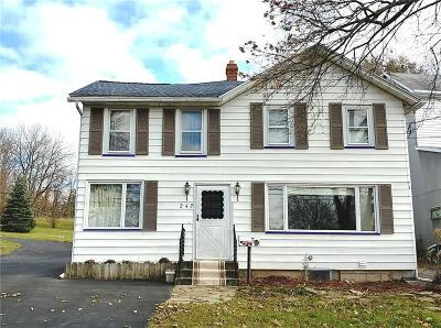 Allegany County, Genesee County, Livingston County, Ontario County, Steuben County, Wyoming County, Yates County Single Family Home A-Active: 242 Rochester Street