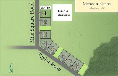 Mendon Residential Lots & Land A-Active: Lots 1-7 Mile Square Road