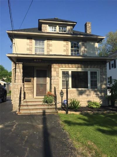 Dunkirk Single Family Home A-Active: 820 Central Avenue