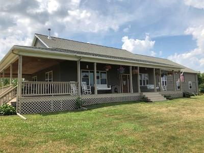 Lyons Single Family Home A-Active: 9180 Travell-Knapps Corners Road