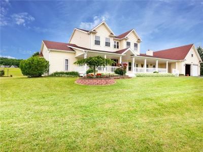 Victor Single Family Home A-Active: 7821 Dryer Road