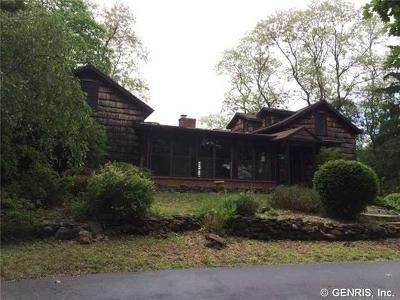 Monroe County Single Family Home A-Active: 3126 Brockport Spencerport Road