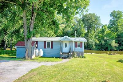 Genesee County, Livingston County, Monroe County, Ontario County, Orleans County, Wayne County Single Family Home A-Active: 11805 Bentley Road