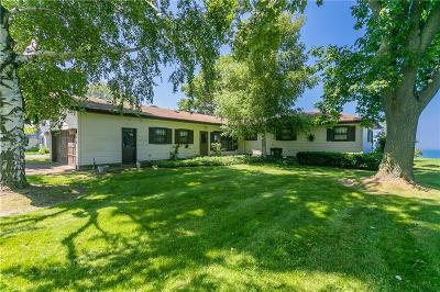 Orleans County Single Family Home A-Active: 16945 Bald Eagle Drive