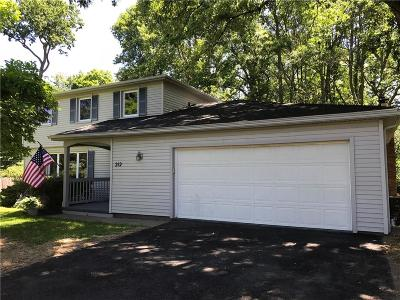 Penfield Single Family Home A-Active: 212 Belvista Drive