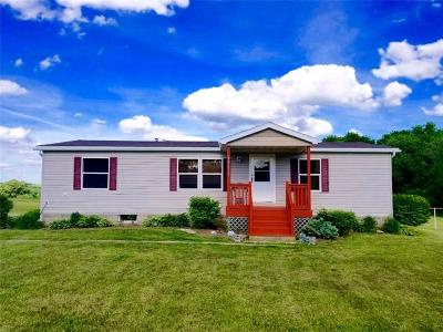 Genesee County Single Family Home C-Continue Show: 10615 Bethany Center Road