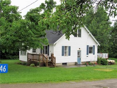 Carroll NY Single Family Home U-Under Contract: $114,900