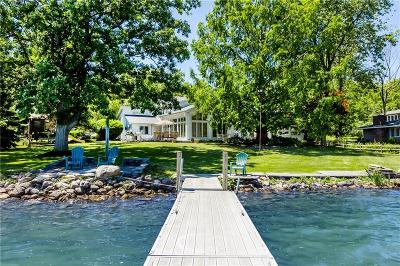 Canandaigua NY Single Family Home A-Active: $1,495,000