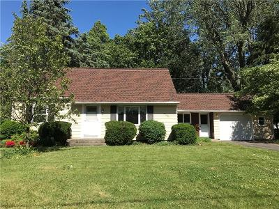 Single Family Home Sold: 1066 Chili Center Coldwater Road