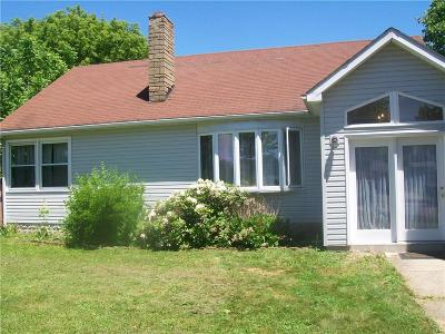 Dunkirk Single Family Home A-Active: 120 South Warsaw Street