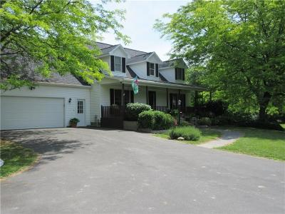 Orleans County Single Family Home A-Active: 1661 Norway Road