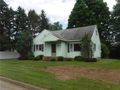 Jamestown NY Single Family Home A-Active: $86,900