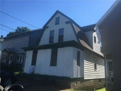 Jamestown NY Single Family Home A-Active: $15,900