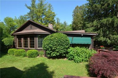 Victor Single Family Home A-Active: 355 Log Cabin Road