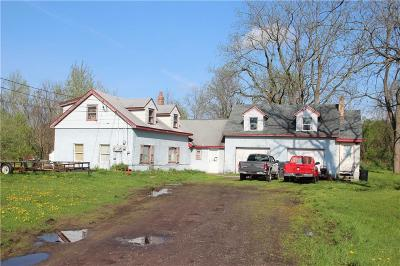 Orleans County Single Family Home A-Active: 2245 Center Road