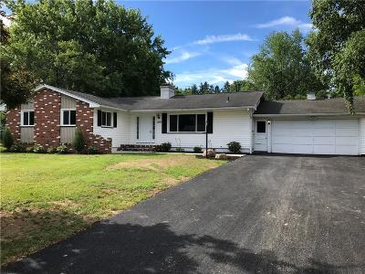 Rush Single Family Home A-Active: 1603 Rush Henrietta Townline Road