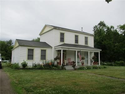Pomfret NY Single Family Home A-Active: $134,900