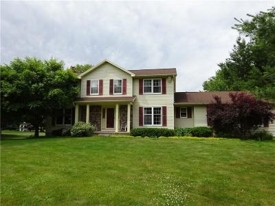 Rush Single Family Home A-Active: 6745 East River Road