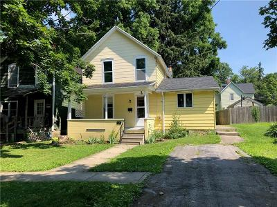 Warsaw Single Family Home U-Under Contract: 67 Genesee Street