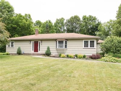 Pittsford Single Family Home U-Under Contract: 18 Buttermilk Hill Road