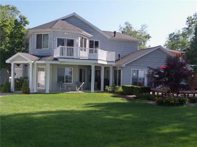 Dunkirk Single Family Home A-Active: 5375 Lakeside Boulevard North
