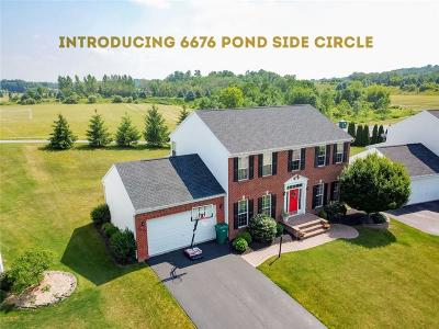 Victor Single Family Home A-Active: 6676 Pond Side Circle