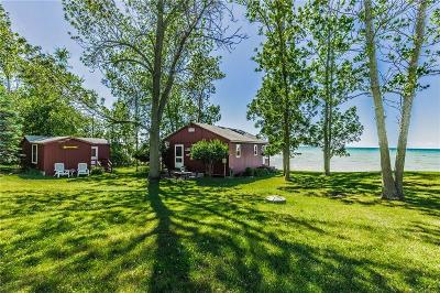 Single Family Home A-Active: 9489 Blind Sodus Bay Road