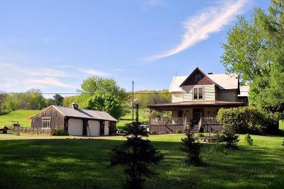 Allegany County, Cattaraugus County Single Family Home A-Active: 5686 Wolf Spring Road
