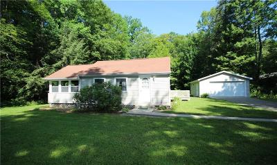 Mayville NY Single Family Home Sold: $124,900