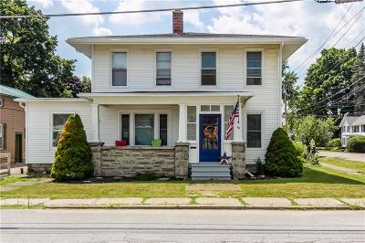 Wayland NY Single Family Home A-Active: $159,900